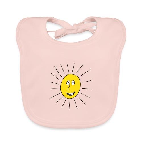 strahlende Sonne - Baby Bio-Lätzchen
