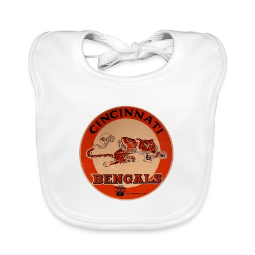 Cincinnati Bengals - Ekologisk babyhaklapp