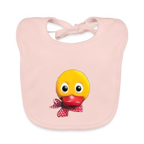 Schnatterinchen 3D - Baby Bio-Lätzchen