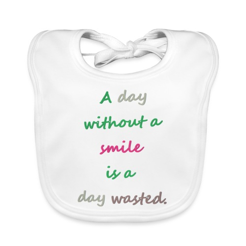 Say in English with effect - Baby Organic Bib