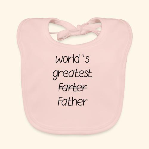 World's greatest Father - Baby Bio-Lätzchen