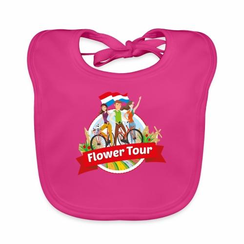 Flower Tour rondom Keukenhof - Bio-slabbetje voor baby's