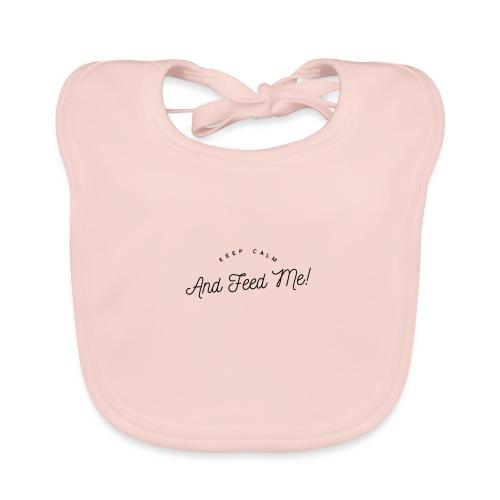 Baby Bekleidung mit lustigem Spruch, Geschenkidee - Baby Bio-Lätzchen