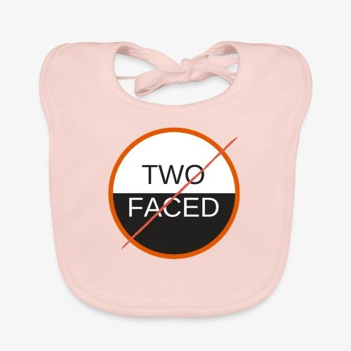 TWO FACED - Ekologisk babyhaklapp