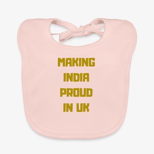 MAKING INDIA PROUD IN UK - Ekologisk babyhaklapp