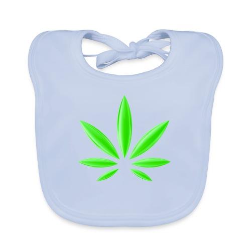 T-Shirt Design für Cannabis - Baby Bio-Lätzchen