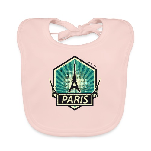 PARIS, FRANCE - Baby Organic Bib