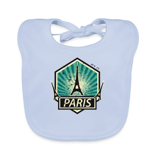 PARIS, FRANCE - Baby Organic Bib