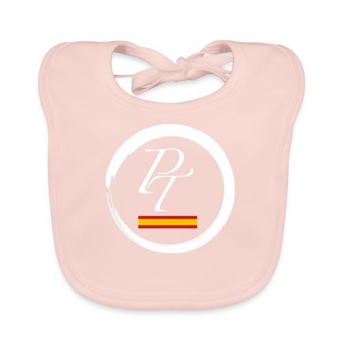 PT blanco spain españa - Babero de algodón orgánico para bebés