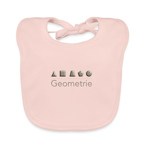 Geometrie - Baby Bio-Lätzchen