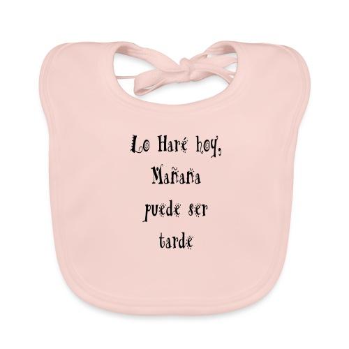 hacer hoy, ahora - Babero de algodón orgánico para bebés