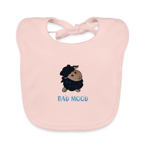 Badmood - Gaspard le petit mouton noir - Bavoir bio Bébé