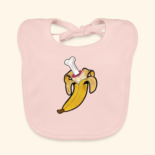 Die zwei Gesichter der Banane - Baby Bio-Lätzchen