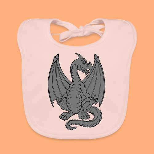 dragon - Bavoir bio Bébé
