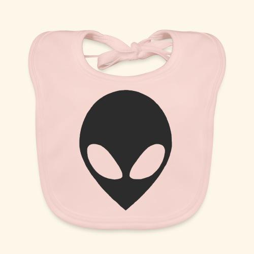 alien hoofd - Bio-slabbetje voor baby's