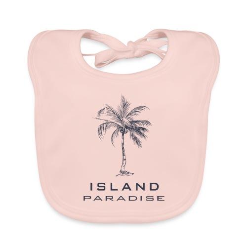 Island Paradise - Bavoir bio Bébé