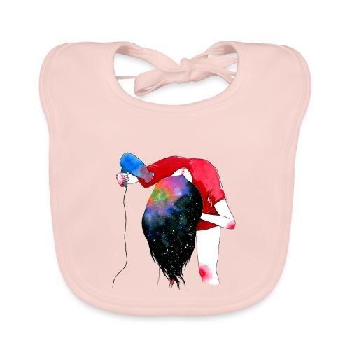 hair drying - Baby Organic Bib