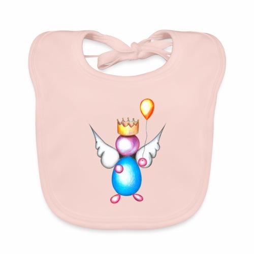 Mettalic Angel geluk - Bio-slabbetje voor baby's