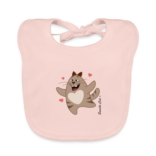 Verliebt - Sancho Cat © - Baby Bio-Lätzchen