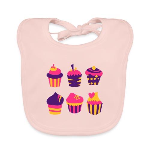 Cupcakes bien-être - Bavoir bio Bébé