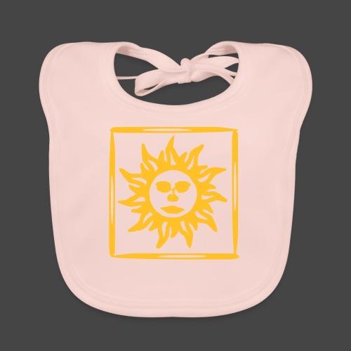 arancione acido sole sole - Bavaglino