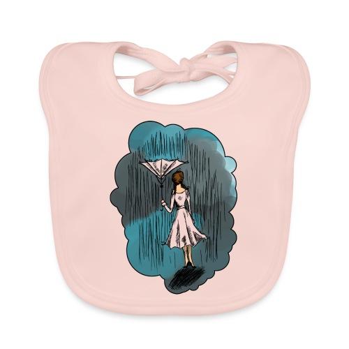 Upside Down Umbrella - Baby Organic Bib