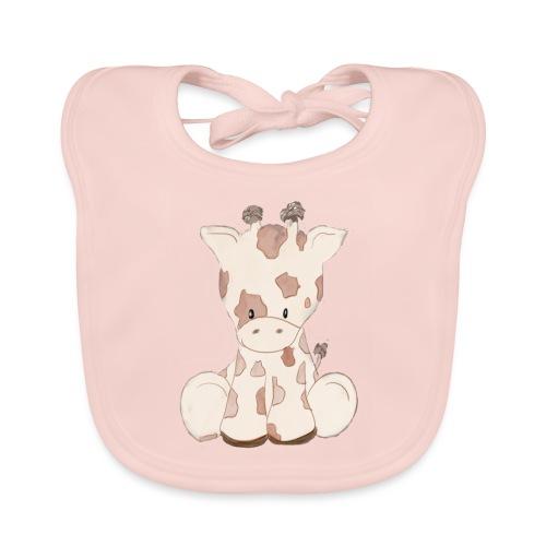 Giraffe - Baby Bio-Lätzchen