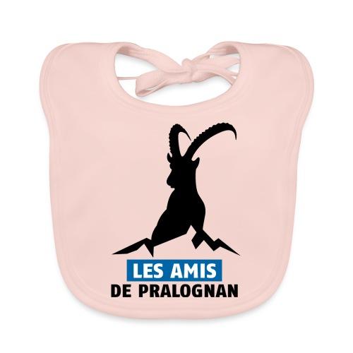 Logo Les Amis de Pralo grand noir - Bavoir bio Bébé