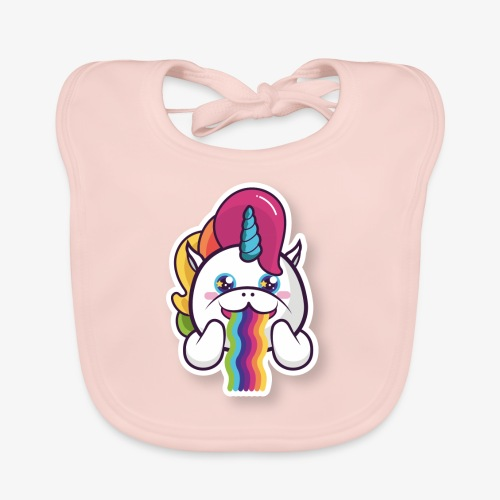 Funny Unicorn - Organic Baby Bibs