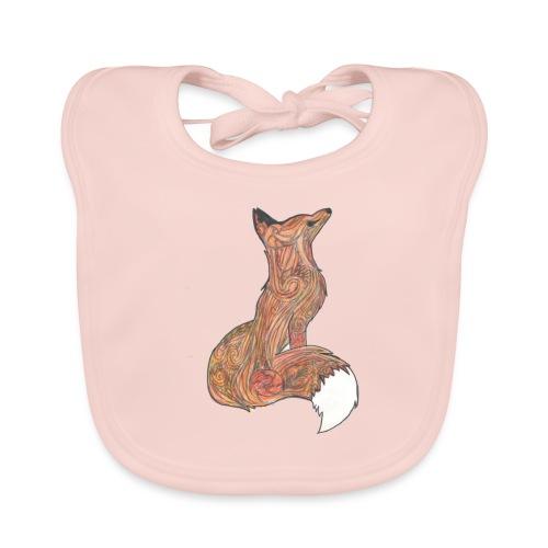 zorro - Babero de algodón orgánico para bebés