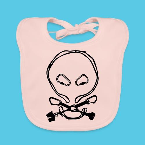 Totenkopf - Baby Bio-Lätzchen