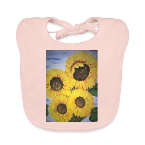 SonnenblumeIMG 20180815 090758 - Baby Bio-Lätzchen