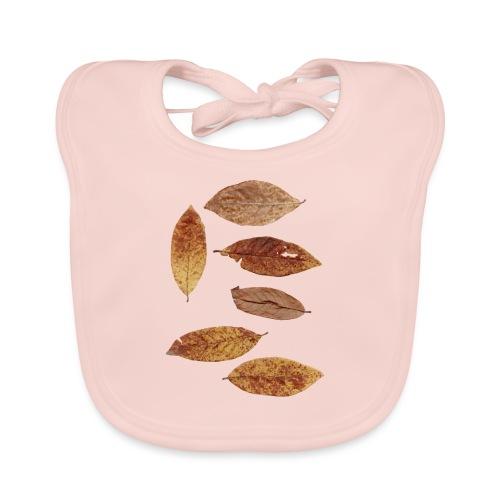 Bunte Blätter - Baby Bio-Lätzchen