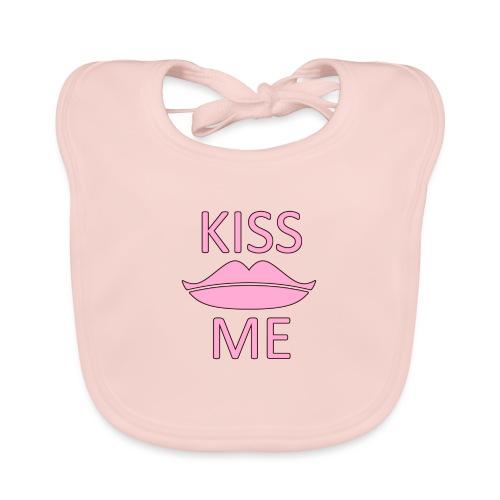 Kiss Me - Baby Bio-Lätzchen