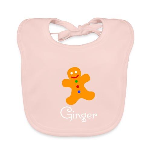 Gingerbread Man - Baby Organic Bib