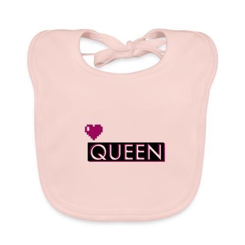 Queen, la regina - Bavaglino ecologico per neonato