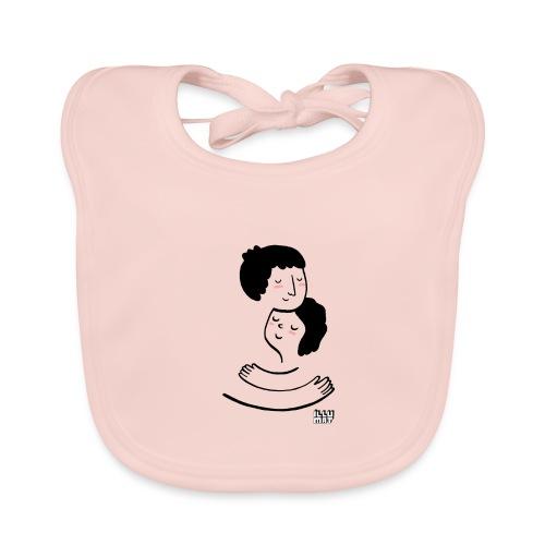 LYD 0002 00 Lieblingsmensch - Baby Bio-Lätzchen