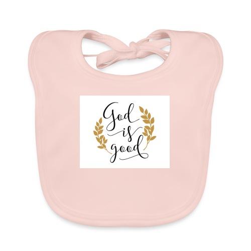 God is good label Jetzinger - Baby Bio-Lätzchen