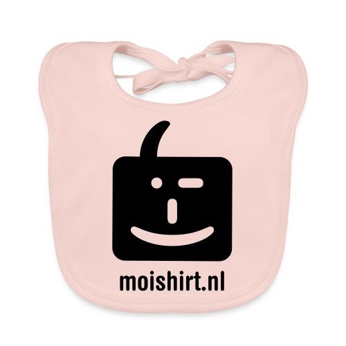 moi shirt back - Bio-slabbetje voor baby's
