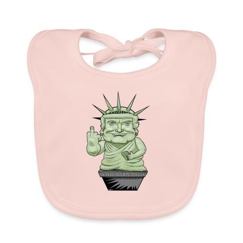 The Statue of Liability - Baby Organic Bib