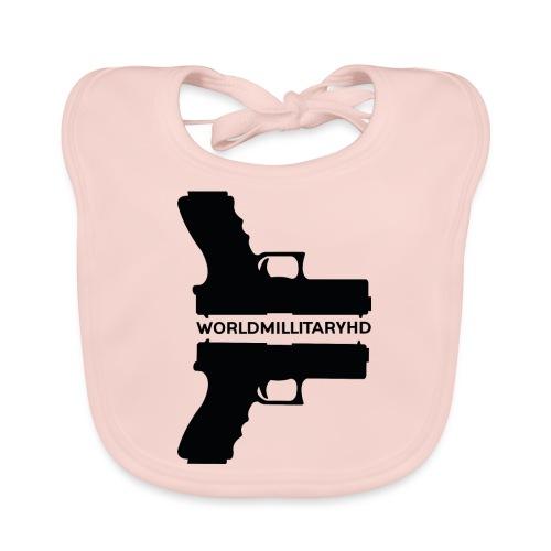 WorldMilitaryHD Glock design (black) - Bio-slabbetje voor baby's
