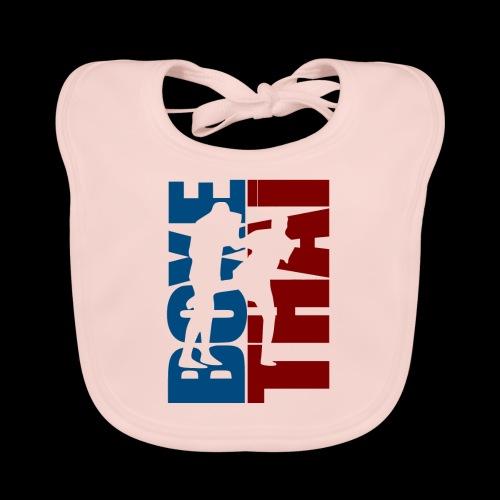 boxe thai - Bavoir bio Bébé