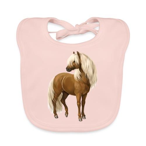 Pony Hengst - Baby Bio-Lätzchen