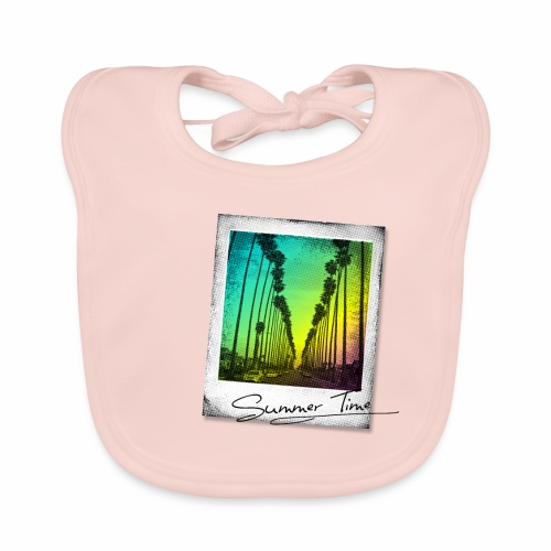 Summer Time - Baby Organic Bib