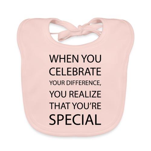 You're special - Baby økologisk hagesmæk