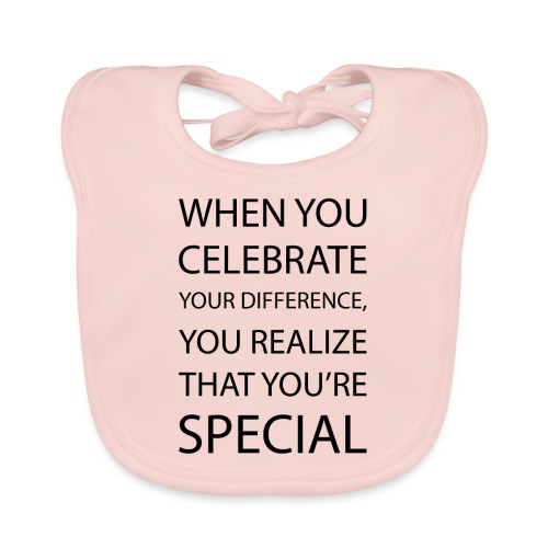 You're special - Organic Baby Bibs
