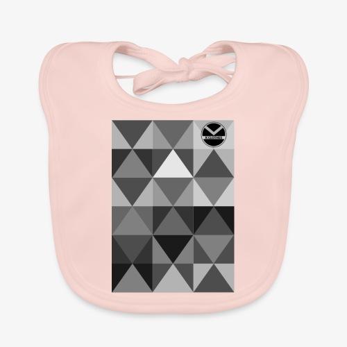 |K·CLOTHES| TRIANGULAR ESSENCE - Babero de algodón orgánico para bebés