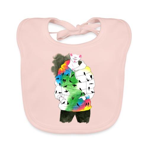 hoodie - Baby Organic Bib