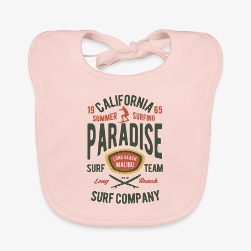 California Summer Surfing Paradise - Bavoir bio Bébé