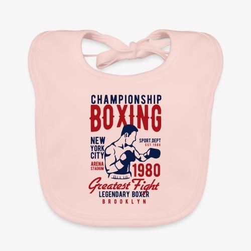 Championnat de boxe - Bavoir bio Bébé